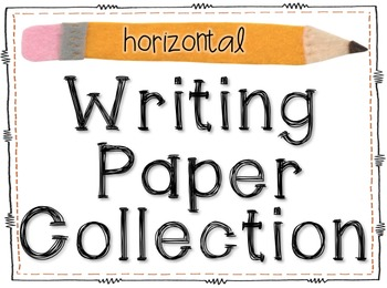 Writing Paper Collection (Horizontal)