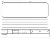 Kindergarten Writing Paper - Common Core Aligned