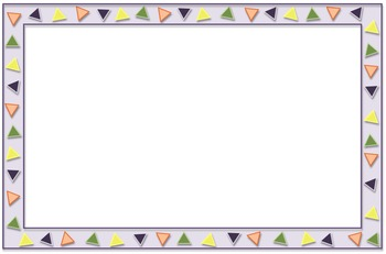 Writing Paper, Decorative Borders