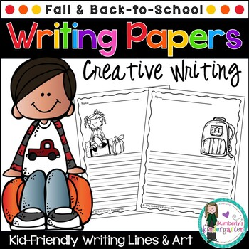 Writing Papers: Fall & Back-to-School Theme