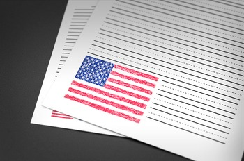 WRITING PAPER: Flags Theme (14 Different Styles)