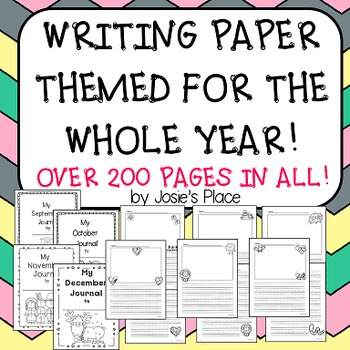 Writing Paper and Journal Covers