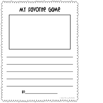 Writing Paper {Freebie}