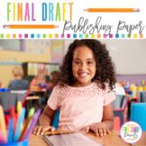 Final Draft Writing Paper