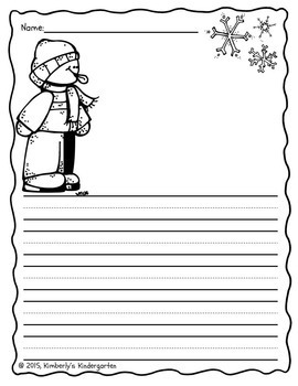 Writing Papers: Full Year of Seasonal Pages!