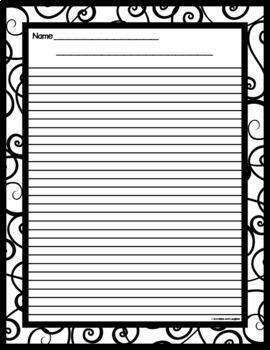 Writing Paper - Grades 4-5  (Set 3)