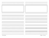 Writing Paper Half Sheet