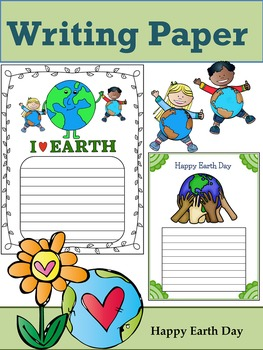 Writing Paper : Happy Earth Day