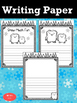 Writing Paper :  Happy Winter : Standard Lines