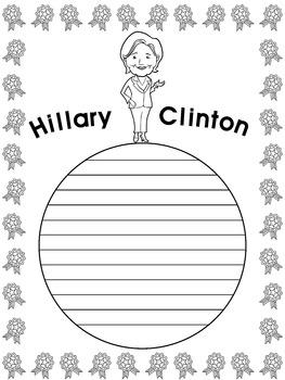 Writing Paper : Hillary Clinton