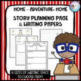 Writing Template: Home Adventure Home Narrative Fiction Stories
