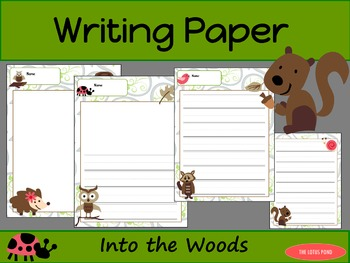 Writing Paper : Into the Woods