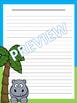 Writing Paper: Jungle Theme