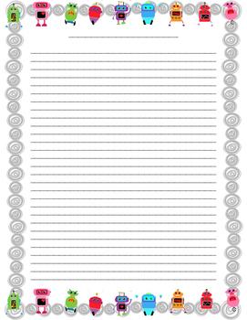 Writing Paper - Junior/Intermediate