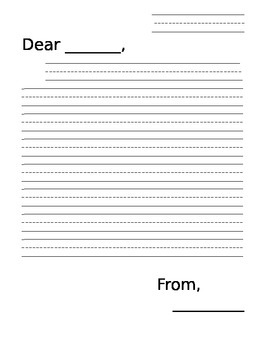 Writing Paper (Letters)