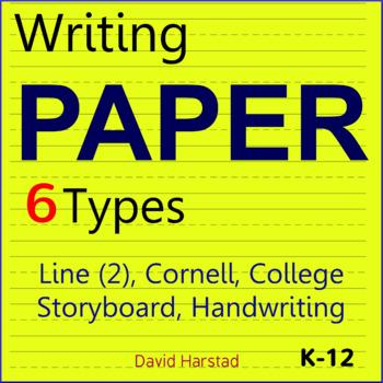 Writing Paper | Line, Handwriting, Cornell, Storyboard... (K-12)