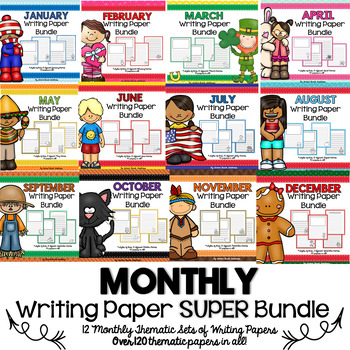 Writing Paper MEGA Bundle