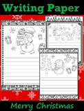 Writing Paper :  Merry Christmas : Standard Lines