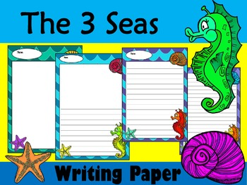 Writing Paper : The 3 Seas : Standard Lines
