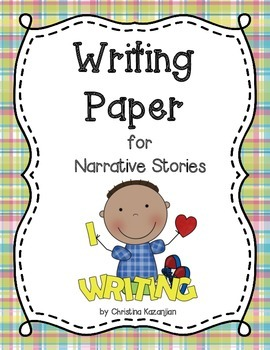 Writing Paper: Narrative Stories (differentiated) 1 - 4 lines