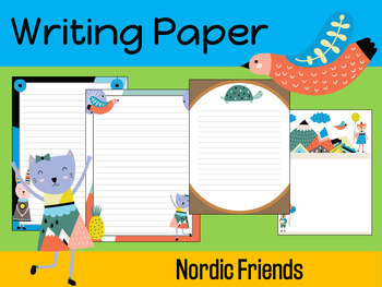 Writing Paper : Nordic Friends : Standard Lines