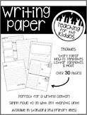 Writing Paper Pack