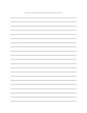 Writing Paper Pack Basic