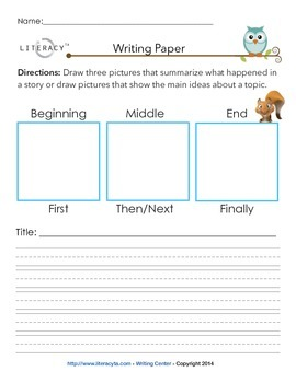 Writing Paper Pack for Elementary (K-5)