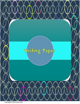 Writing Paper Packet