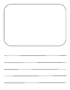 Writing Paper Packet {for young learners}