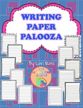 Writing Paper Palooza