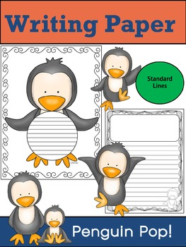 Writing Paper : Penguin Pop! : Standard Lines