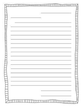 Writing Paper Sample Pack
