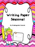 Writing Paper Seasonal