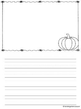 Writing Paper Seasonal