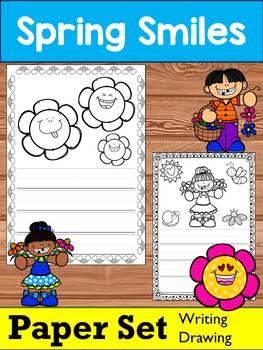 Writing Paper Set : Spring Smiles