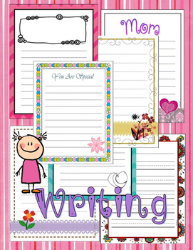 Writing Paper: Special Occasions