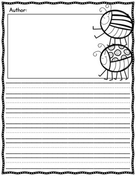 Writing Paper - Spring