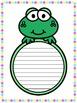 Writing Paper : Spring Peek-a-boo