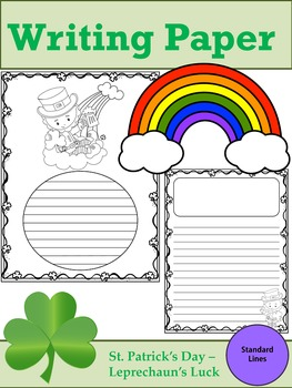 Writing Paper : St. Patrick's Day - Leprechaun's Luck : St