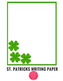 Writing Paper St. Patricks Day Stationary