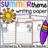 Writing Paper - Summer
