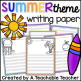 Writing Paper - Summer