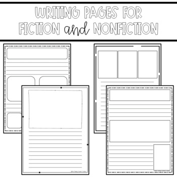 Writing Paper Templates Elementary Grades