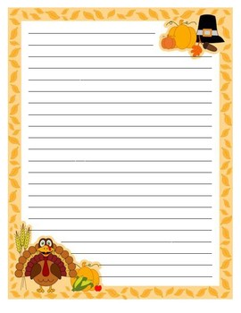 Writing Paper Templates - Holiday Mix