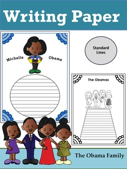 Writing Paper : The Obama Family : Standard Lines