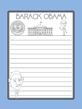 Writing Paper :  The US Presidents : Standard Lines