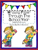 Writing Paper Through The Year (Portrait)