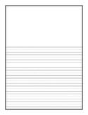 Writing Paper Vertical Format