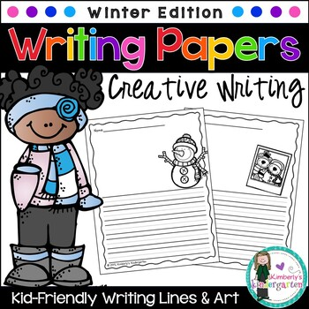 Writing Papers: Winter Theme